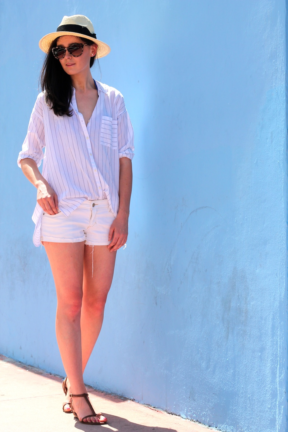 All White Outfit In Miami Fashion And Style Blog